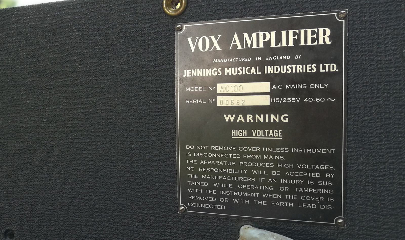 The VOX Showroom - The Vox AC30TB and AC30TBX Amplifiers