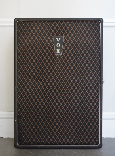 A Vox AC100 speaker cabinet from 1965