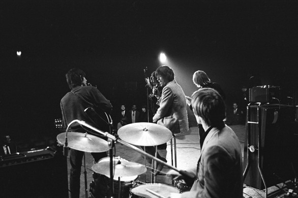 Rolling Stones, Olympia Theatre, Paris 1964 with an early Vox AC100 SDL