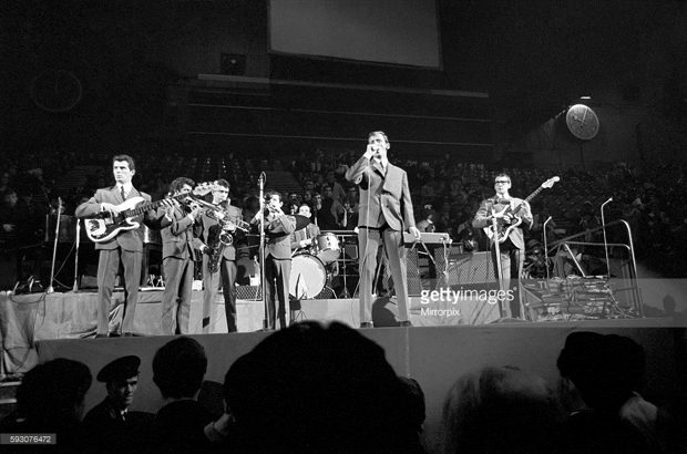 Sounds Incorporated at Wembley, November 1964