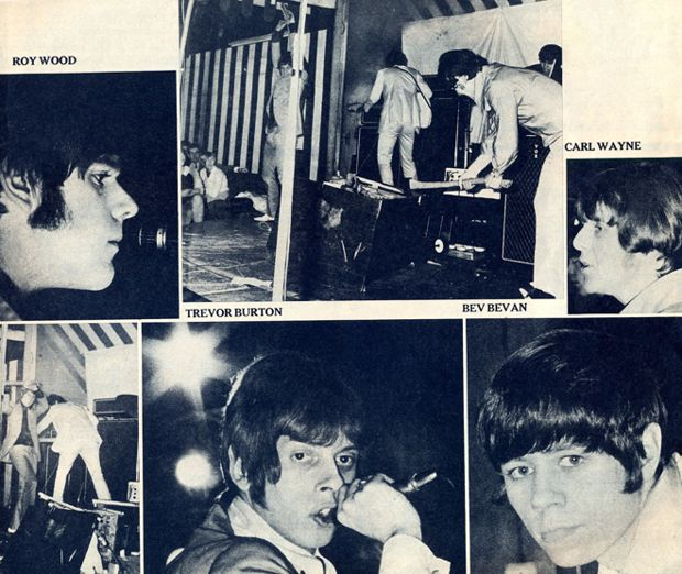 The Move at the Marquee Club, 1966