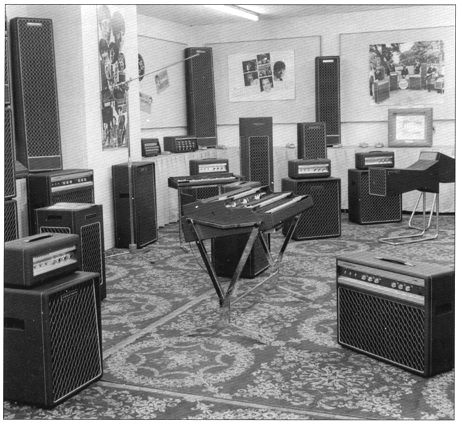 British Musical Instrumental Trade Fair, August 1969