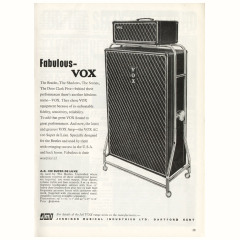 Advert for the Vox AC100 from Beat Instrumental magazine