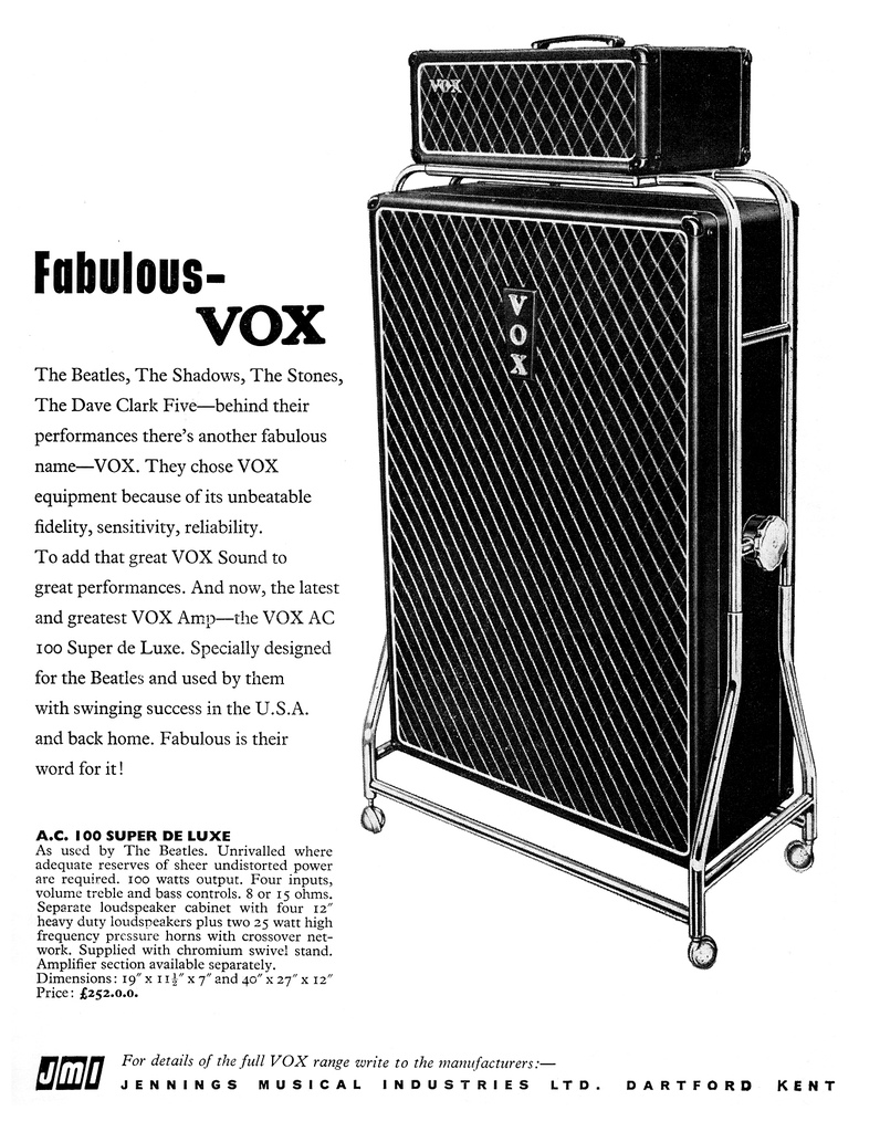 vox ac100 as super beatle. Black Bedroom Furniture Sets. Home Design Ideas