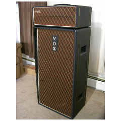 Vox AC100 serial number 177 and its bass speaker cabinet