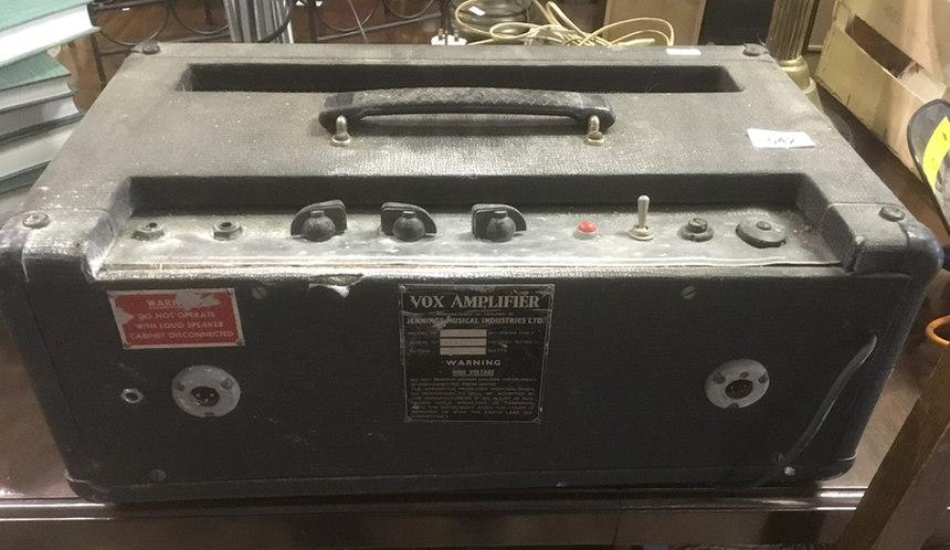 Vox AC100 serial number 1935