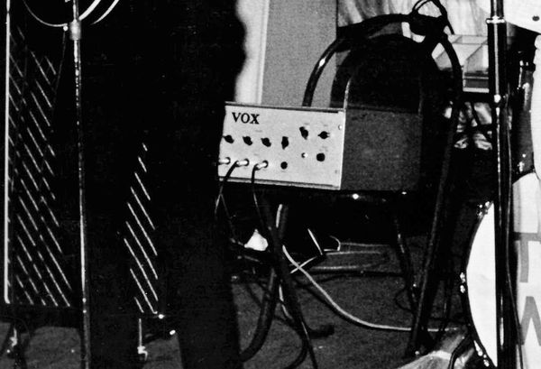 The Who with a Vox MC100 in mid 1965