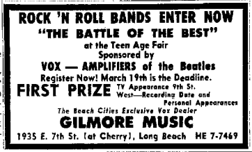 The Long Beach Press Telegram, 15th March, 1965