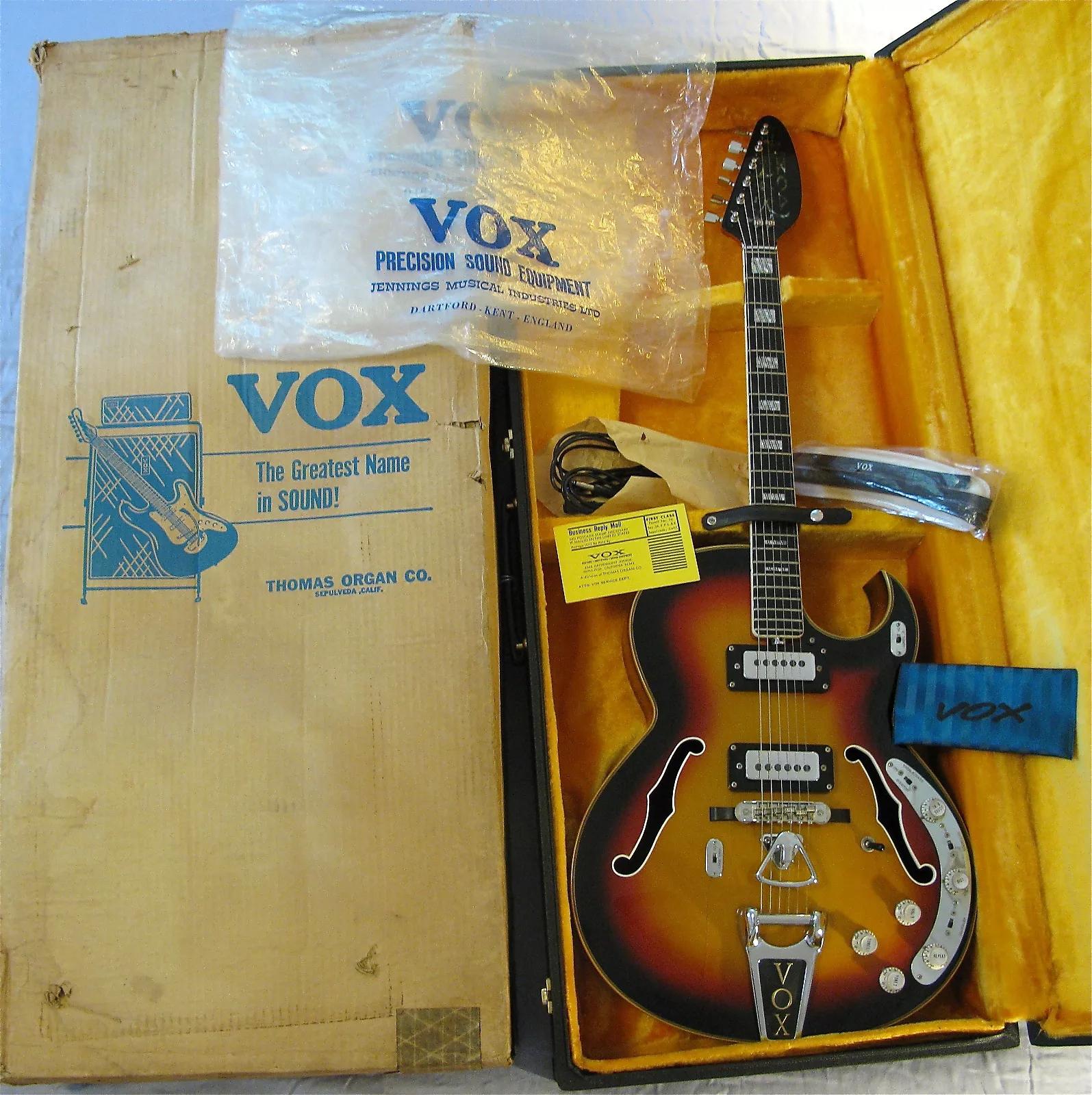 Thomas Organ Vox Spyder Bass, original shipping box