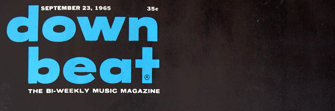 Downbeat Magazine mast