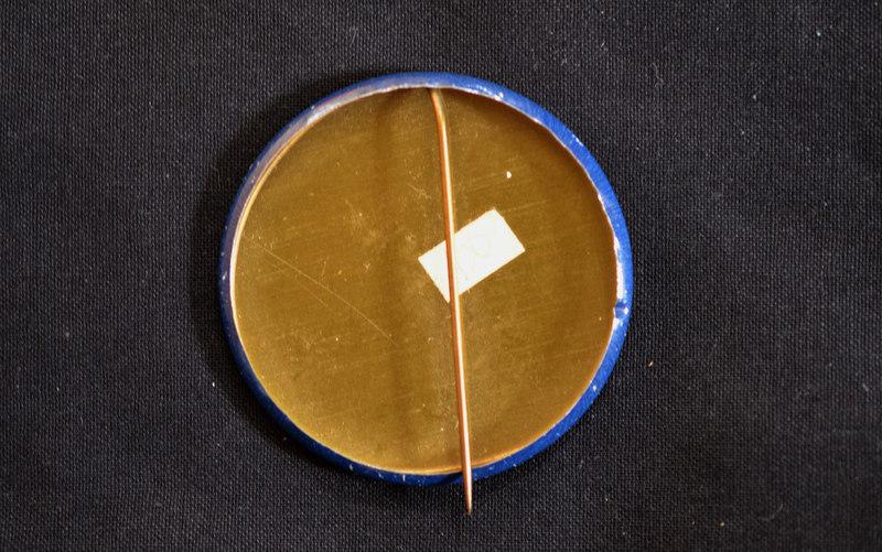 Vox Rules badge, Thomas Organ, 1966