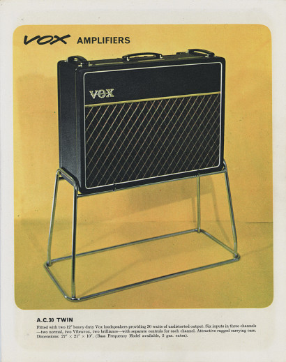 Vox Catalogue (Catalog), February 1964