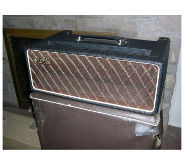 Original covers for AC100 serial number 177 and its speaker cabinet
