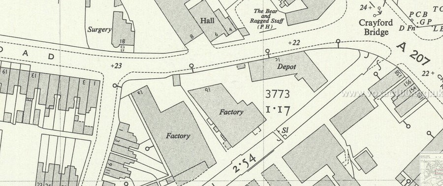 P.A.Glock, cabinet-makers, 1b London Road, Crayford