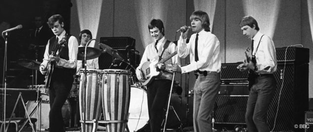 The Yardbirds with Vox loan equipment, November 1964