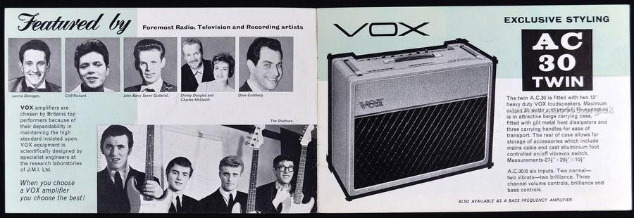 Early Jennings Musical Industries, Amplifier brochure, 1961