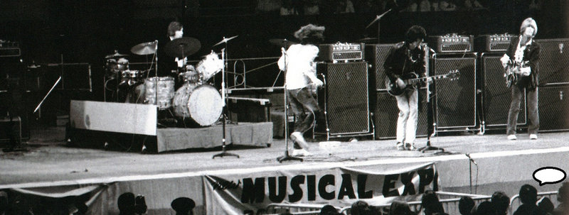 The Rolling Stones on stage, The New Musical Express Poll Winners Concert, May 1968