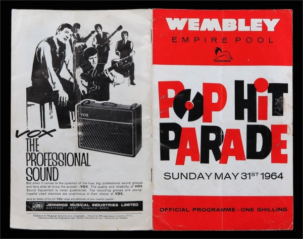 Pop Hit Parade Show, 31st May, 1964