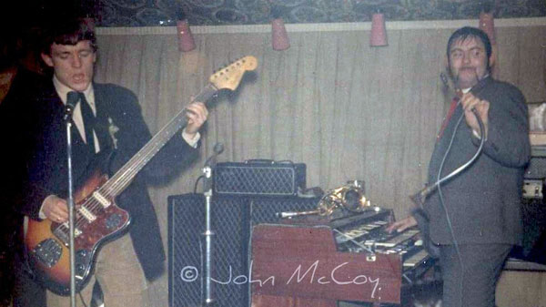 Jack Bruce and Graham Bond with an AC100 and two cabs