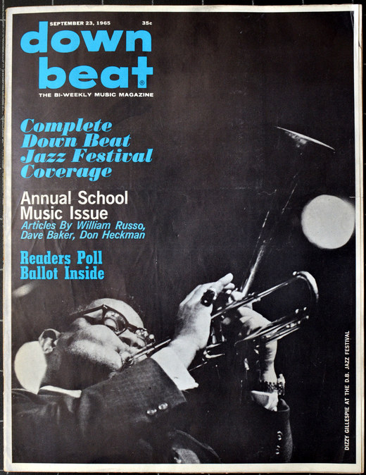 Downbeat magazine, September 1965