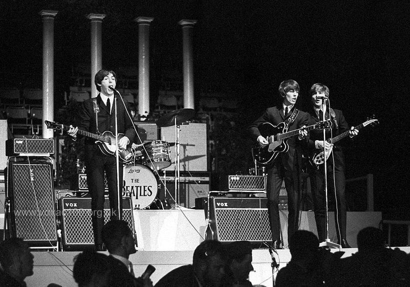 The Beatles, Stockholm, July 1964