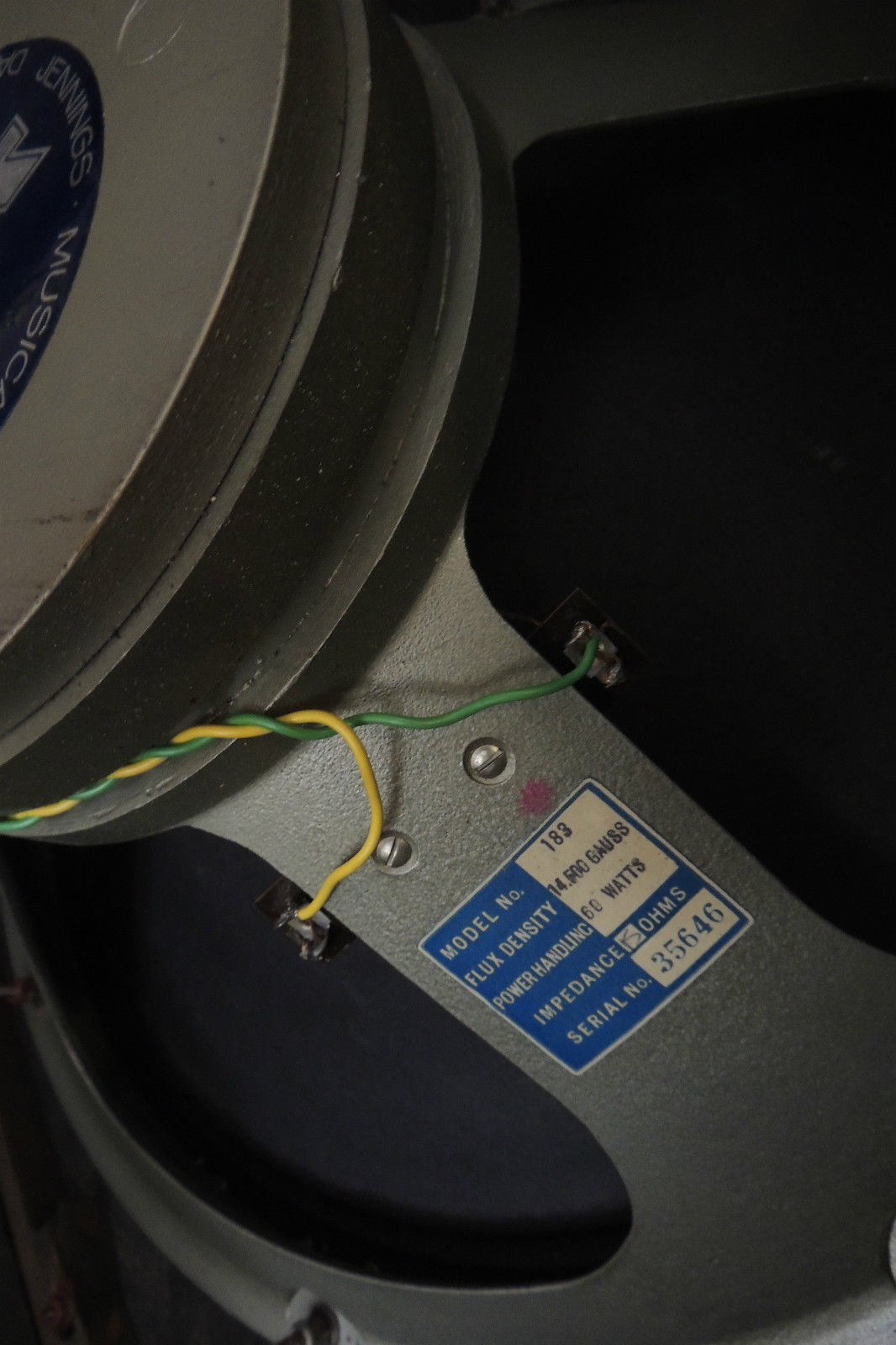 Goodmans 18 Audiom 91 And Fane Bass Speakers Speaker Ohm Wiring A Pricelist Undated From The 1960s 183 Was 25 4 Shillings Cheaper Therefore Than By 1 16