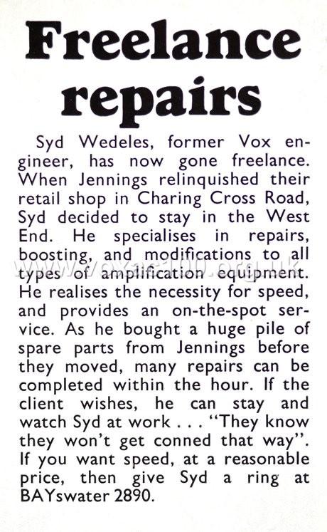 Beat Instrumental magazine, March 1967