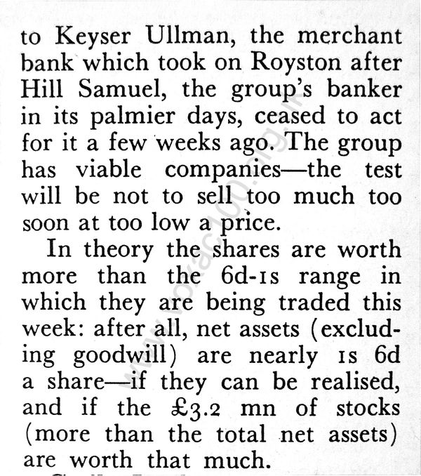The Economist, 16th December 1967