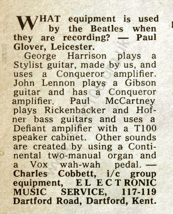 Melody Maker, 13th January 1968
