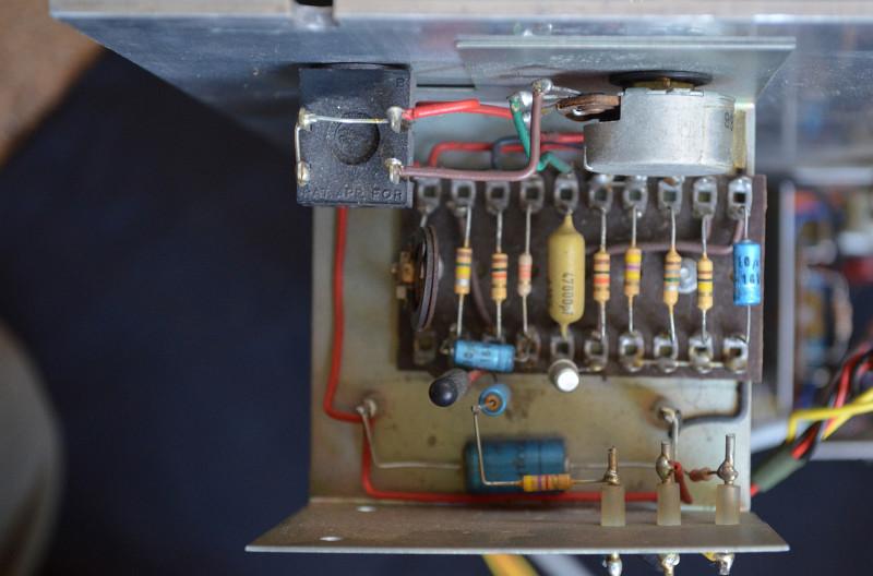 Vox 100 watt public address amplifier, hybrid, 1967