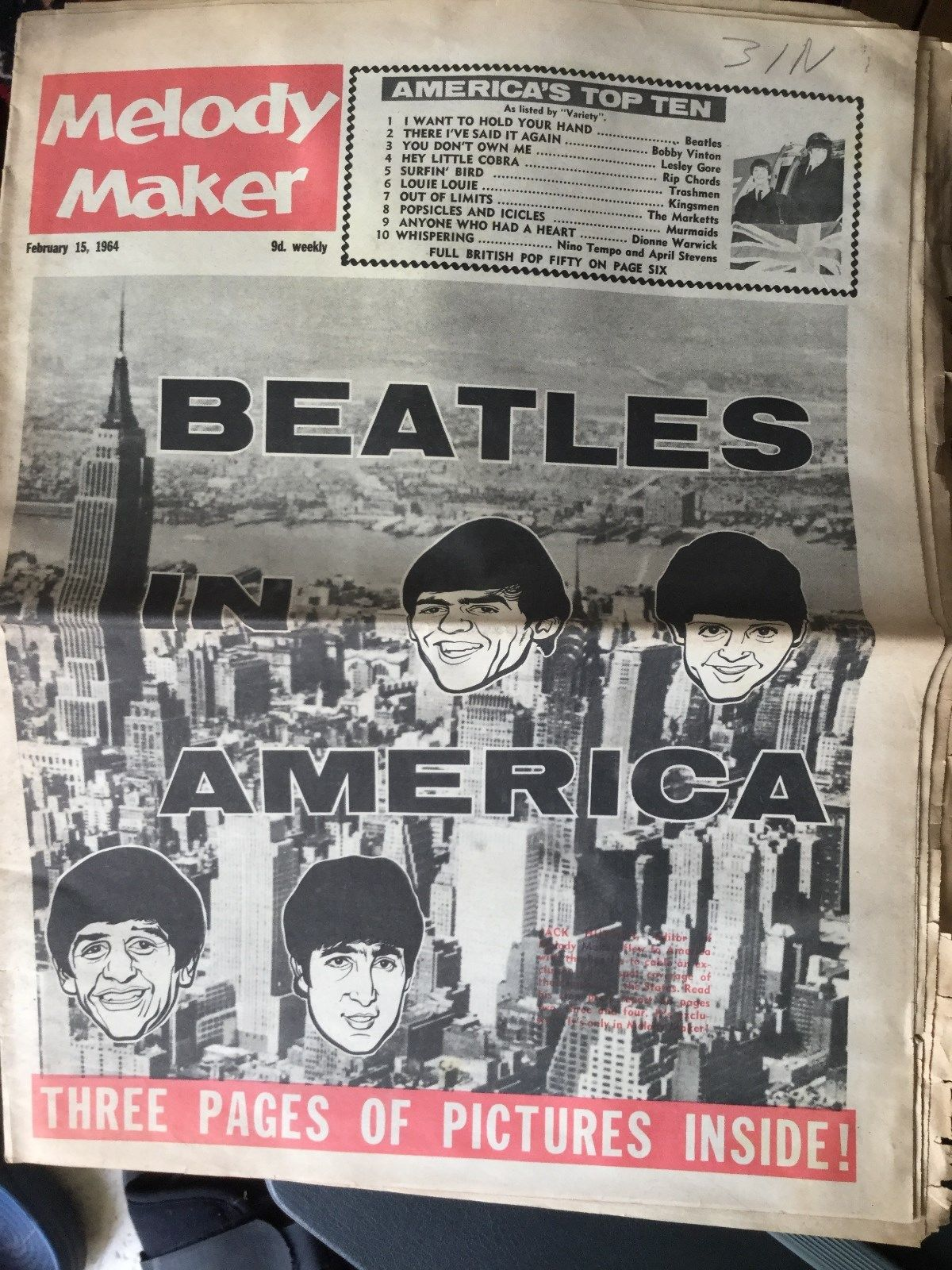 The Beatles in America, February 1964