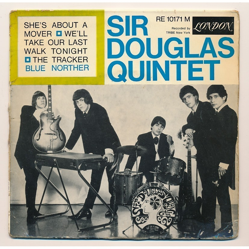 The Sir Douglas Quintet, early 1965