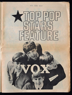 Vox Teen Beat magazine, volume I, issue 2, page 5