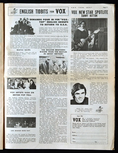 Vox Teen Beat magazine, volume I, issue 2, page 8