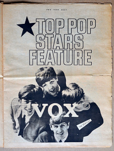 Vox Teen Beat magazine, volume I, issue 3, page 8a