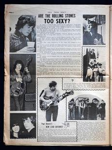 Vox Teen Beat magazine, volume II, issue 3, page 6