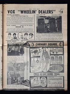 Vox Teen Beat magazine, volume II, issue 3, page 19