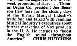 Billboard magazine, 2nd October, 1965