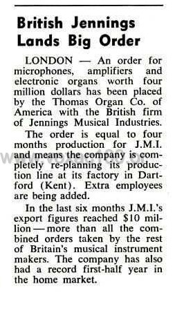 Billboard magazine, 26th June, 1965