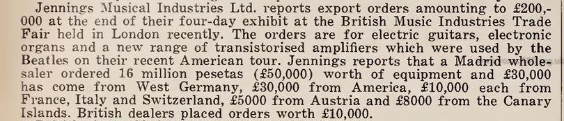 Cash Box magazine, 10th September 1966