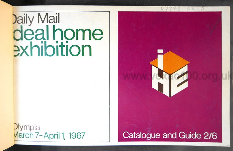 The Ideal Home Exhibition, London, Olympia, 1967