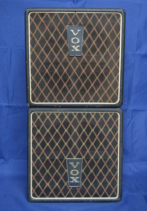A pair of Vox Wall speakers. c. 1966-1967