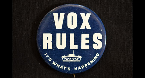 Vox Badge (Button)