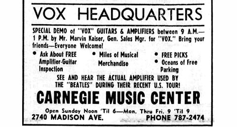 The Beatles USA tour, 1966