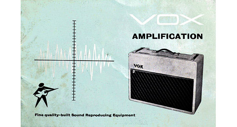 JMI brochure for amplifiers and accessories, 1961