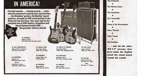 Vox in California, 1964