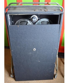 A closed back Vox AC100 cab from 1966