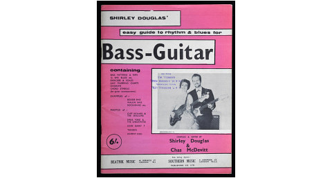 Shirley Douglas, Easy Guide to Rhythm and Blues for Bass Guitar, 1960