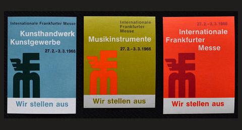 Frankfurt Musikmesse, February 1966