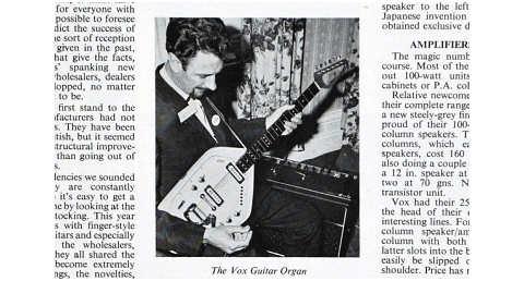 British Musical Instrument Industries Trade Fair, London 1965
